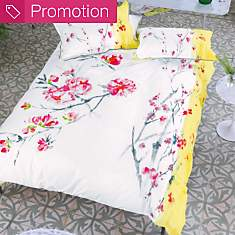 Taie satin Oriental Flower DESIGNERS  GU...