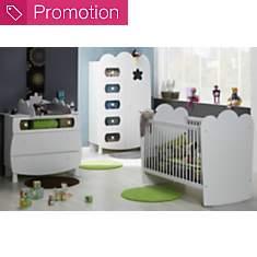 Chambre bébé complète Silène à barreaux...