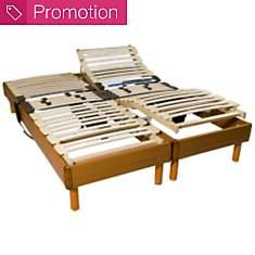 Sommier relaxation bois OEKOSOM, 14 cm F...