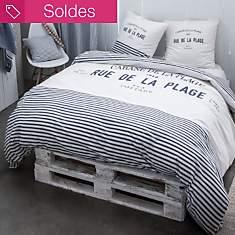 Parure de lit Cabane