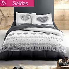 Parure de lit flanelle Avoriaz