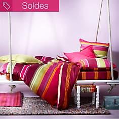 Parure de lit satin Affinité ESSIX HOME