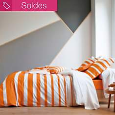 Taie percale Grand Large BLANC DES  VOSG...