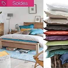 Taie Coton Bio Pure FIL & SENS