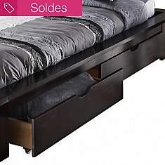 Lot de 2 tiroirs Tamouré pour lit 140 cm...
