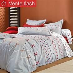 Parure de lit percale Vespa Platine  BLA...