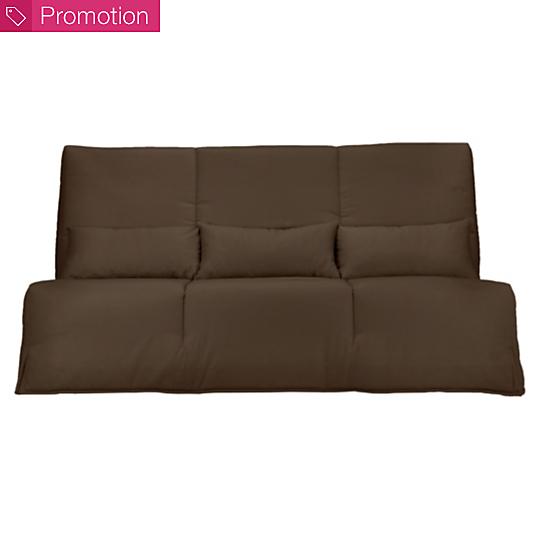 banquette clic clac gaya matelas latex 15 cm. Black Bedroom Furniture Sets. Home Design Ideas