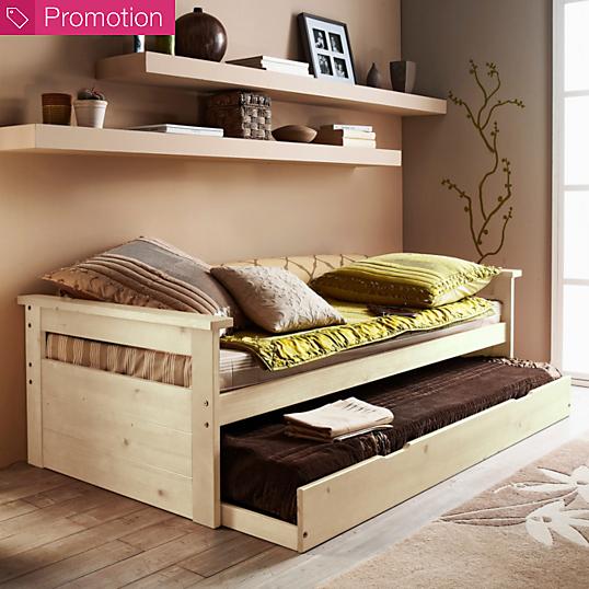 lit gigogne web 90 x 190 cm. Black Bedroom Furniture Sets. Home Design Ideas