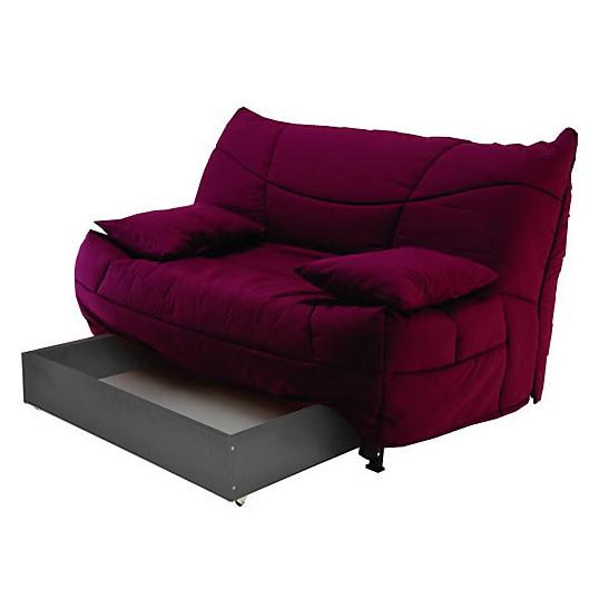 tiroir pour banquette lit bz 160 cm. Black Bedroom Furniture Sets. Home Design Ideas