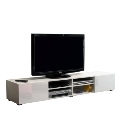 Meuble tv orcade 2 tiroirs 4 niches for Meuble tv 30 euros