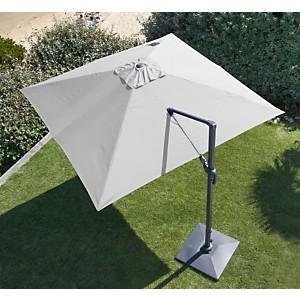 Parasol Aluminium déporté orientable  3 x 3 PRO LOISIRS