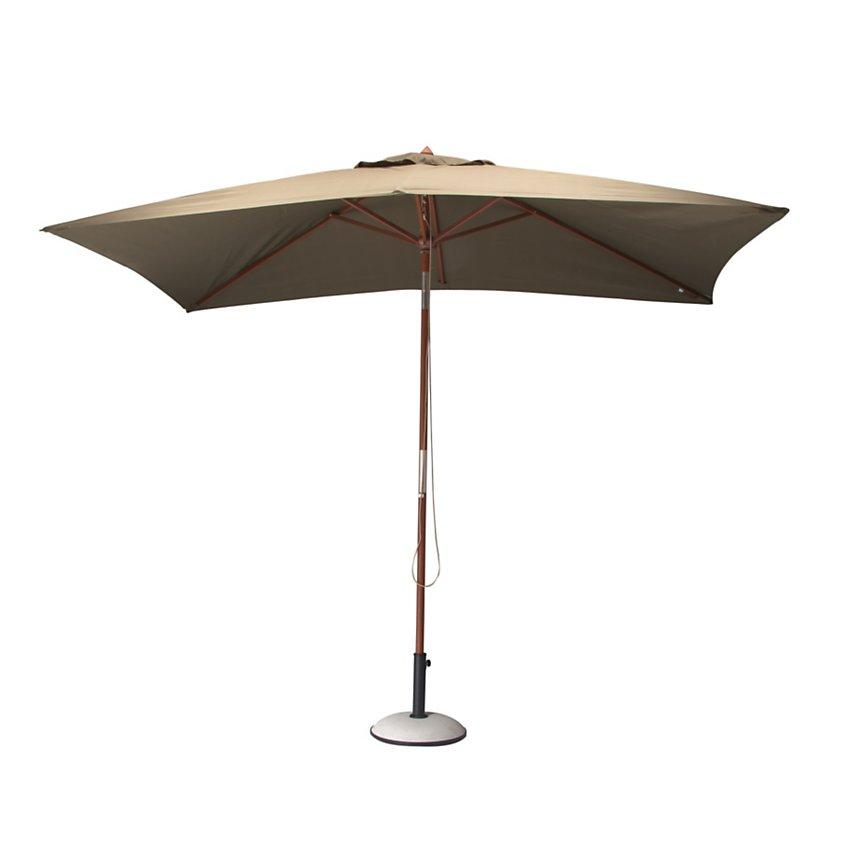 90394adc19816b Parasol rectangulaire 3 x 2 m en bois Pro Loisirs