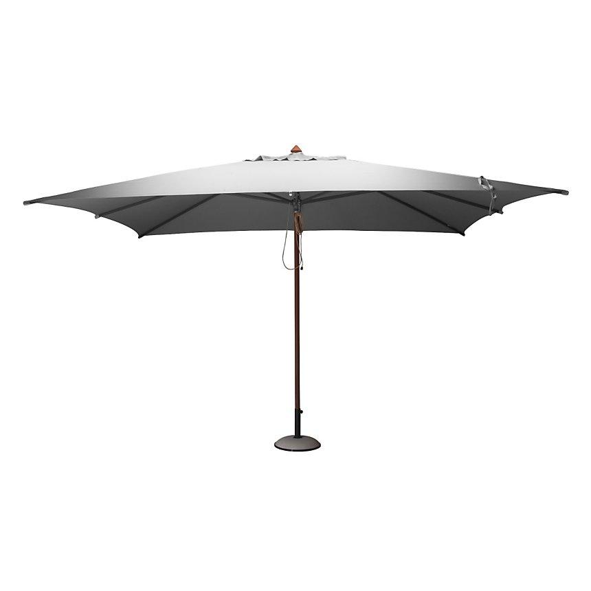 Parasol en bois rectangulaire 3 x 4 m  Pro Loisirs