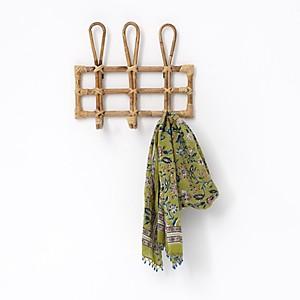 Porte manteau vintage 3 crochets