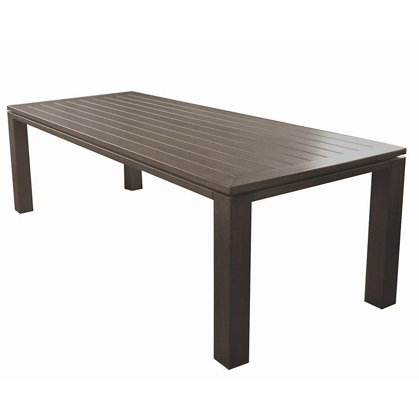 Table OCEO Latino, aluminium 240 x 98 cm