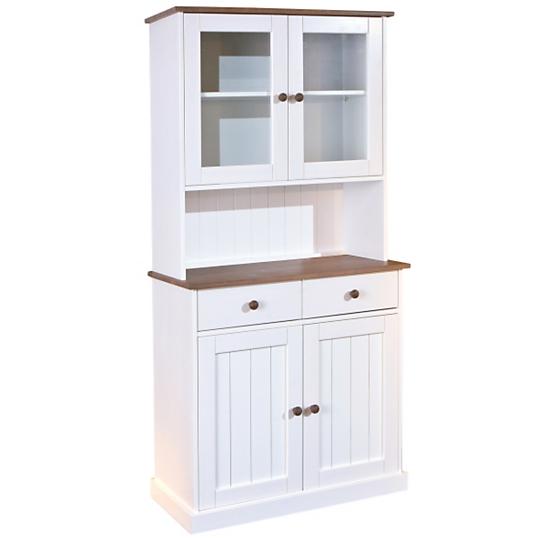 Vaisselier 4 portes inata buffets rangements meuble - Camif meubles chambre ...