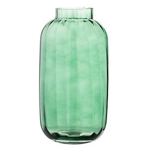 Vase haut en verre couleur verte Bloomingville