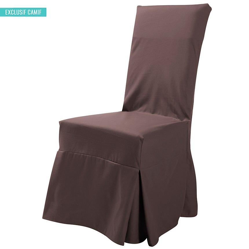 Housse universelle de chaise Tosca  TUTTI TEMPO, chocolat