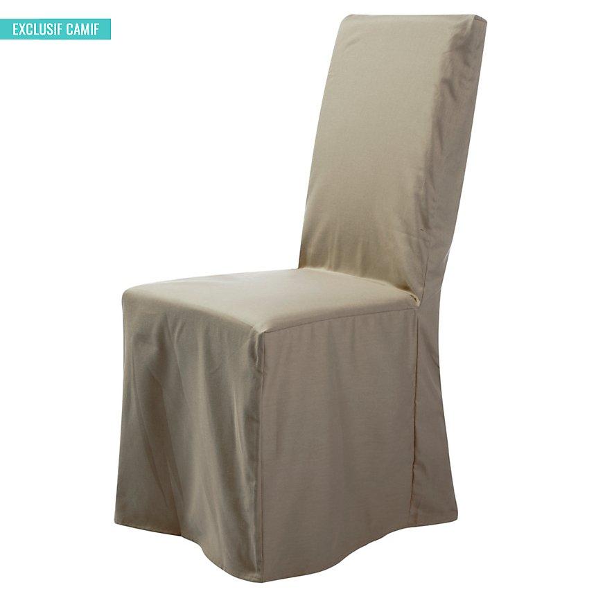 Housse universelle de chaise Noémie  TUTTI TEMPO, lin