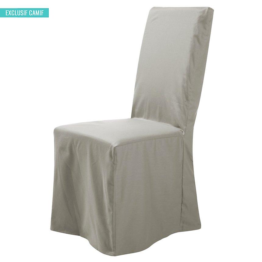 Housse universelle de chaise Noémie  TUTTI TEMPO, naturel