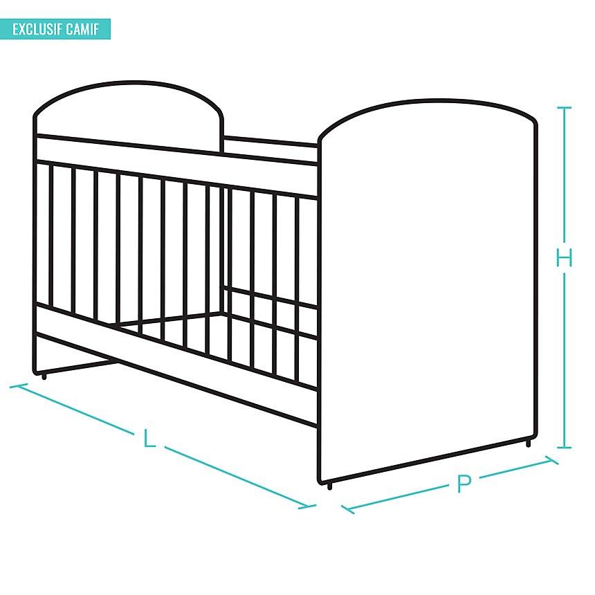 Lit Evolutif + tiroir Sofiane