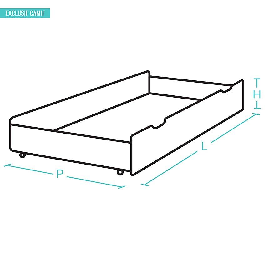 Tiroir-lit pour lit Ivanoe