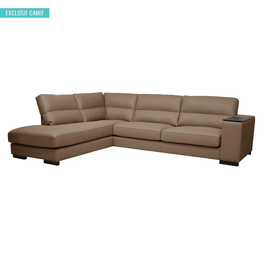 Canapé d'angle cuir Philadelphie