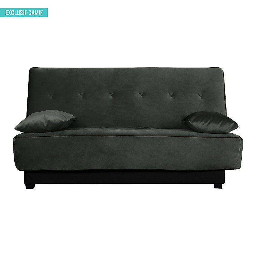Banquette Clic Clac velours Ombeline