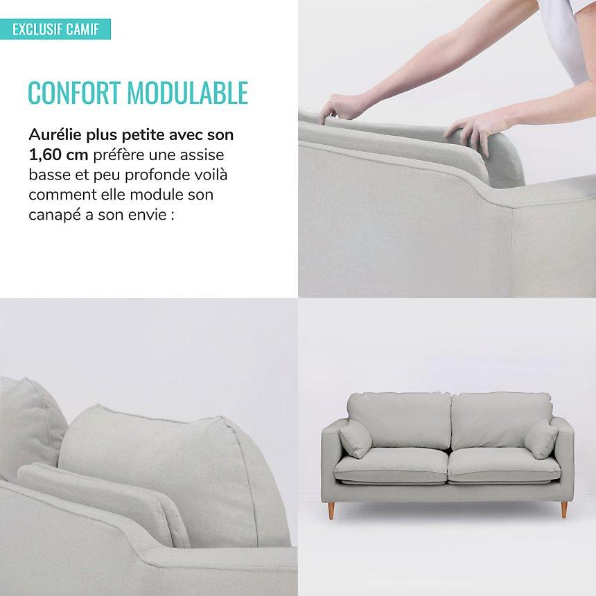 Fauteuil Marius confort modulable
