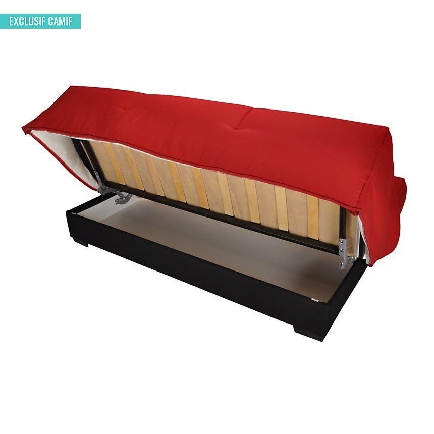 banquette clic-clac gaya, matelas latex 15 cm