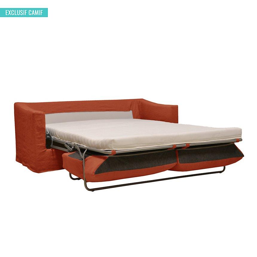 Canapé convertible lin froissé Palavas