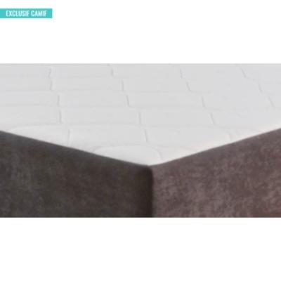 Sommier Dario gris DUVIVIER, 14 cm