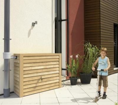 Réservoir 350 litres Woody  aspect bois clair